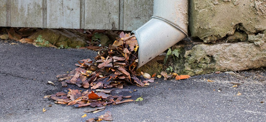 Are your drains and gutters ready for winter?