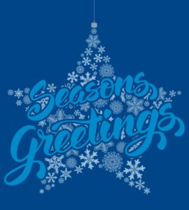 Seasons Greetings and a happy and prosperous new year